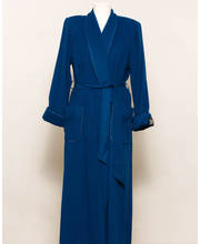 Kaye Jones Wool Cashmere Full Length Wrap Robe